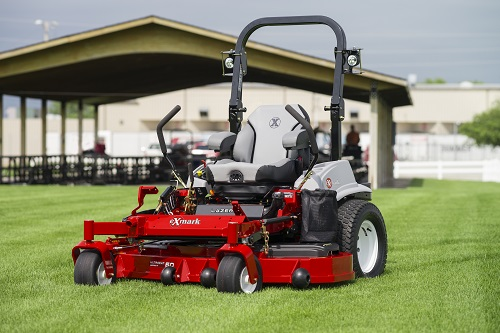 "Exmark Lazer-Z E 60"" Zero-Turn Mower"