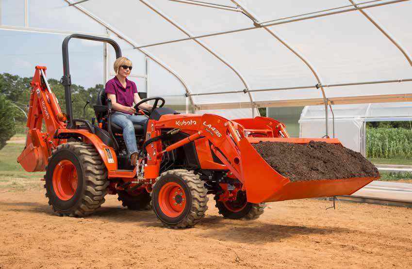 Kubota B2301 Compact B Series Tractor