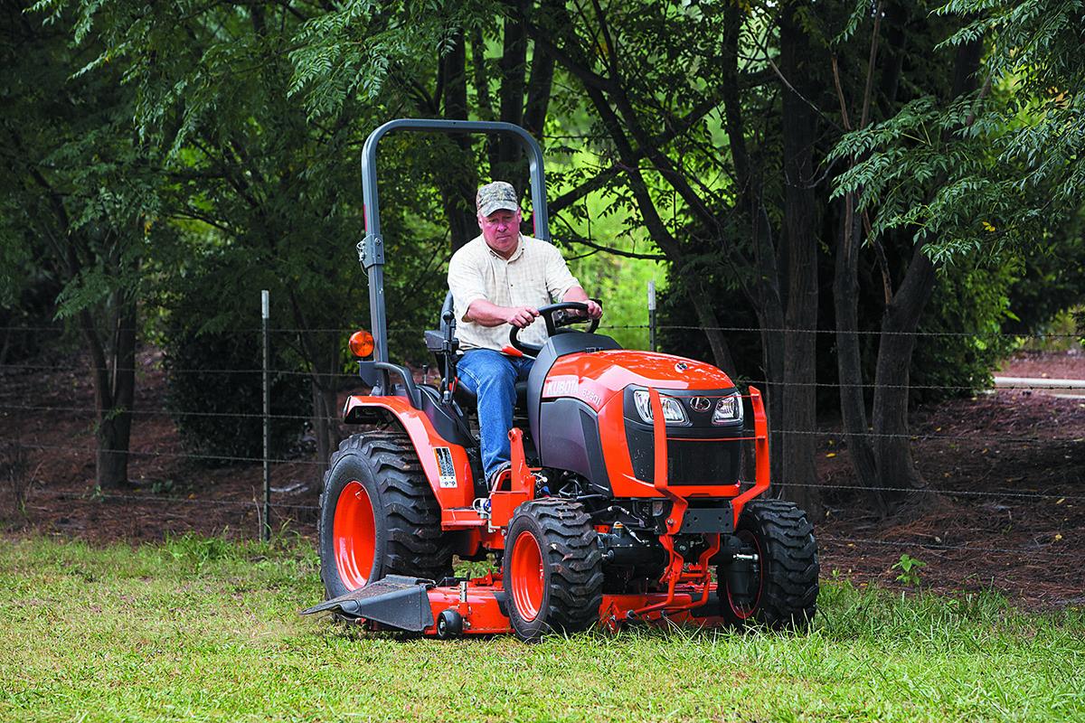 Kubota B2601 Compact B Series Tractor