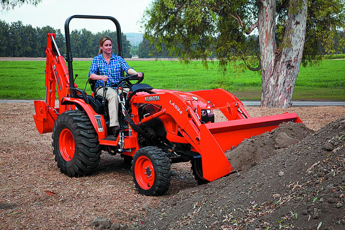 Kubota B2650 Compact B Series Tractor