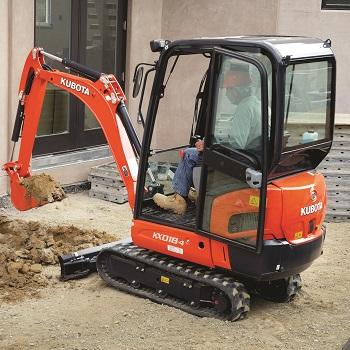 KX018-4 Compact Excavator