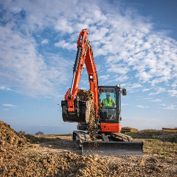 Kubota KX057-5 Compact Excavator