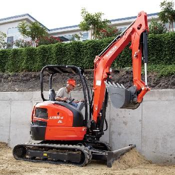 U35 Compact Excavator with Zero Tail Swing