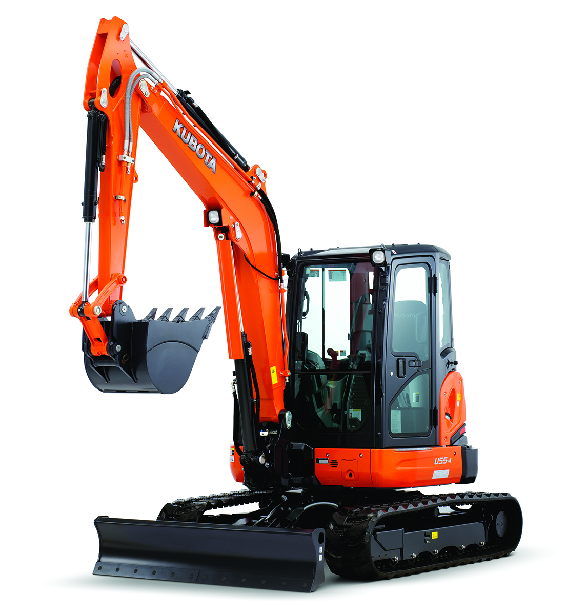 Kubogta U55-4 Tight Tail Swing Compact Excavator