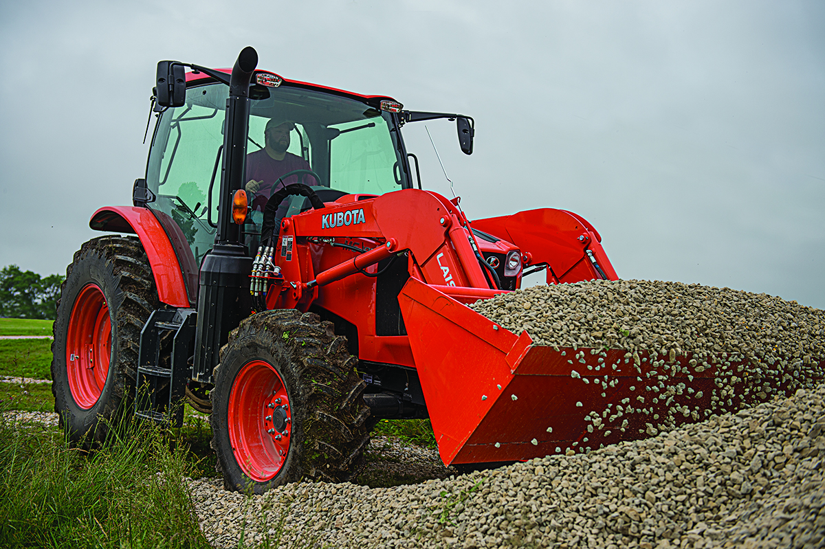 Kubota M6-111 Agricultural Tractor