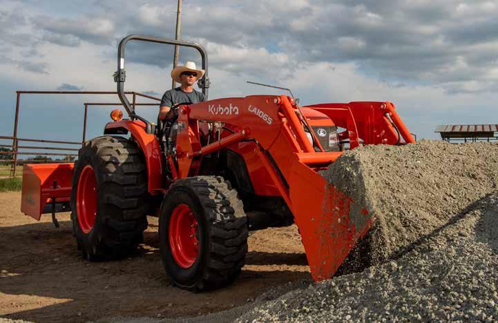 Kubota MX5400 Utility Tractor