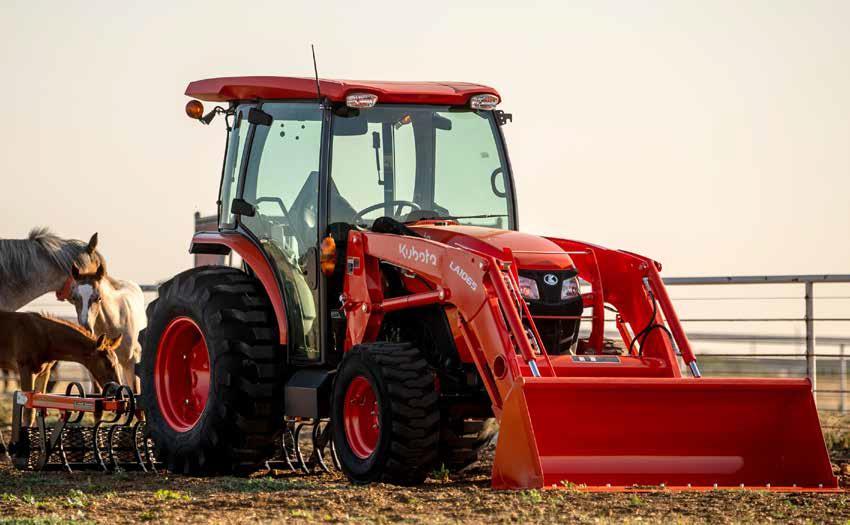 Kubota MX6000 Utility Tractor
