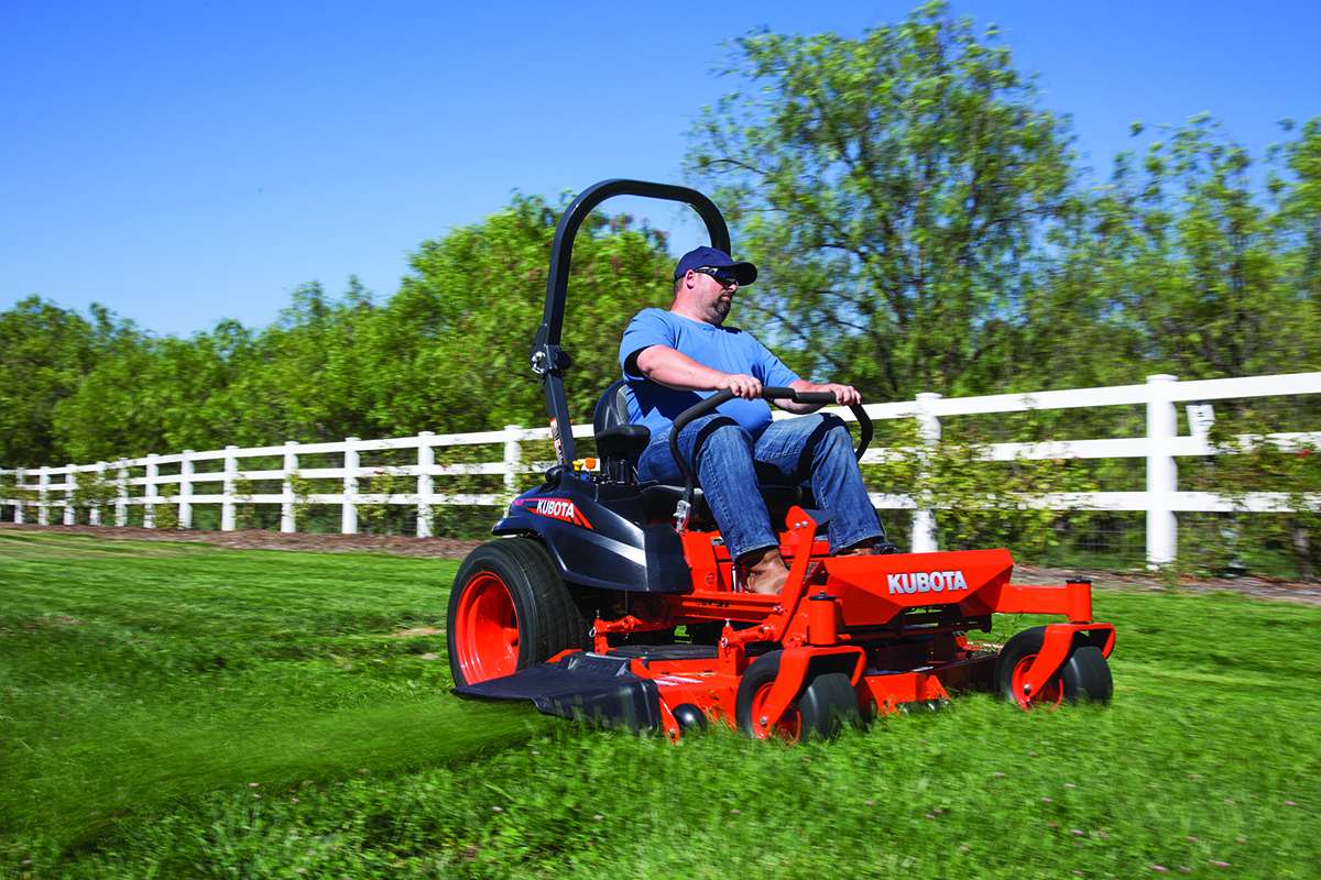 Kubota Z725KH-60 Commercial Zero Turn Mower Details