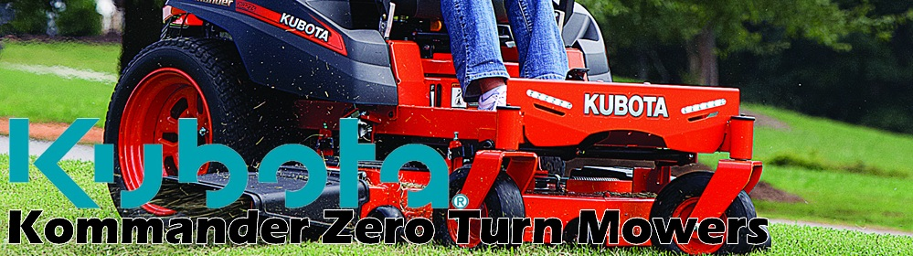 Kubota Kommander Zero Turn Mower