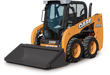 Case SR1600 Radial Lift Alpha Series Skid Steer Loader