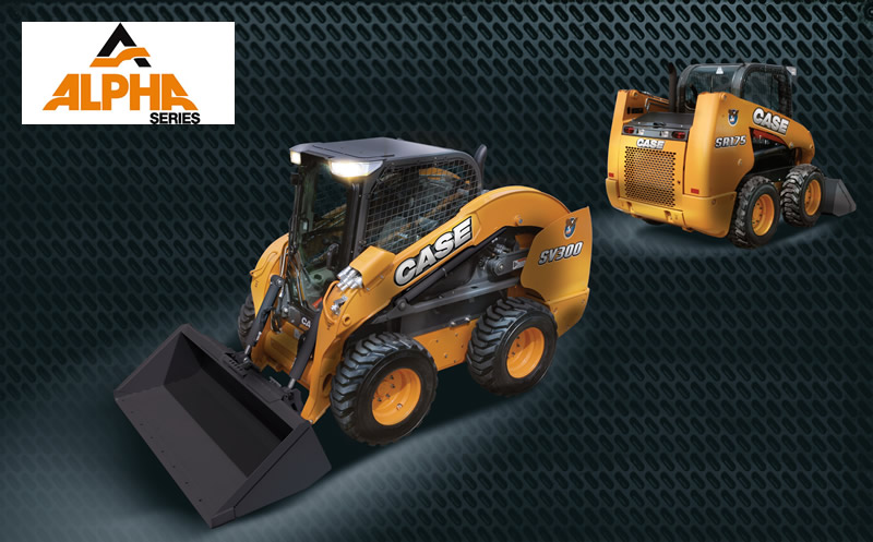 Case Alpha Series Skid Steer Loaders