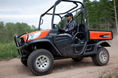 The Kubota RTV-X1120D Diesel Utility Vehicle