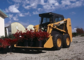 Case 410 Skid Steer Loader from Coleman Equipment