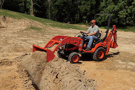 The BX25 Tractor Loader Backhoe from Kubota