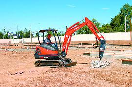 Kubota KX71-3 Compact Excavator Details | Coleman Equipment