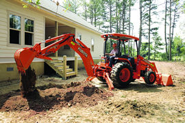 Kubota M59 Tractor Loader Backhoe Details | Coleman Equipment