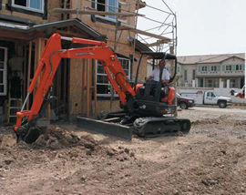 U35 Compact Excavator with Zero Tail Swing
