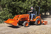 The BX2660 Sub Compact Tractor