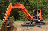 Kubota KX080-3 Tight Tail Swing Excavator