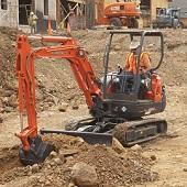 The KX91-3 Compact Excavator