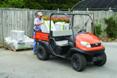 The Kubota RTV500 Gas Utility Vehicle