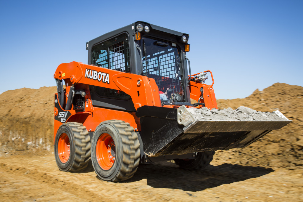 Kubota SSV65 Vertical Lift Skid Steer Loader