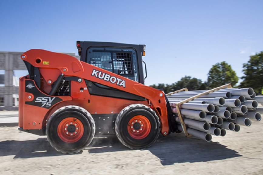 Kubota SSV75 Vertical Lift Skid Steer Loader