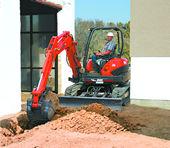 Kubota U45 Zero Tail Swing Compact Excavator