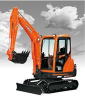 KX71-3S Compact Excavator