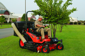 The Kubota ZD323 Diesel Zero Turn Mower