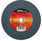 "72402 Forney 6"" X 3/4"" X 1"" Arbor, 80 Grit, Type 1 Bench Grinder Wheel"