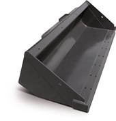 "H674861 Case 63"" Heavy Duty Dirt Bucket for 1800 Series Loaders"