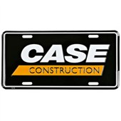 M903 Case Construction Logo License Plate