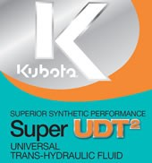 Kubota Super UDT2 Synthetic Universal Trans-Hydraulic Fluid (5 Gallon)