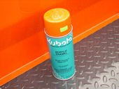 70000-73713 Kubota Bright Orange Spray Paint