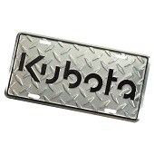 94570 License Plate Diamond Embossed