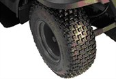 ARTV4204 Knobby Tire and Rim