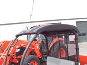 V4321 Kubota Black Plastic Canopy for the RTV500