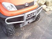 V4325 Kubota Grille Guard for the RTV500 & RTV400 (Silver)
