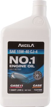 73341699 Case No. 1 15W-40 Engine Oil CJ-4 (1 Quart)