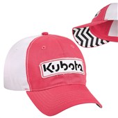 KA199920 Hat - Youth Pink with Chevron