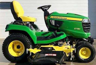 John Deere, X730, Tractor. 25 HP, Used, Mower, 60