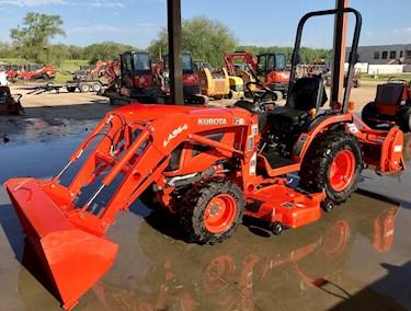 Tractor, B, Loader, Mower, Tiller, Used, B2620