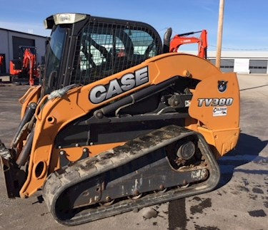 Used TV380 compact track loader side view