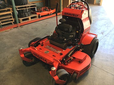 Gravely Stand On Mower