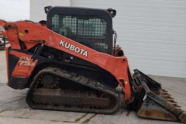Kubota, SVL, SVL75, Track loader, Skid steer, Construction, 75 HP, 75 Horsepower