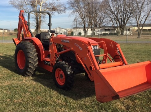 Buy Used Kubota L4701 Hst Tractor With Front Loader And Backhoe Coleman Equipment