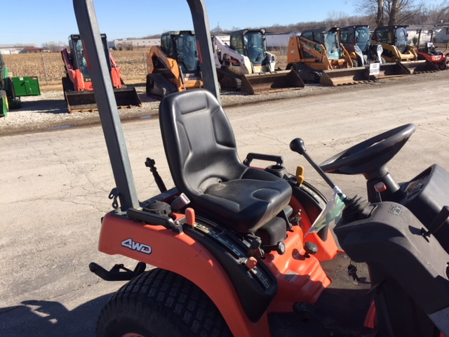 Buy Used Kubota BX2200 Tractor with Front Loader and 60 Inch